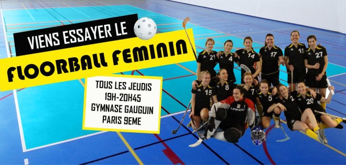 Floorball féminin Paris