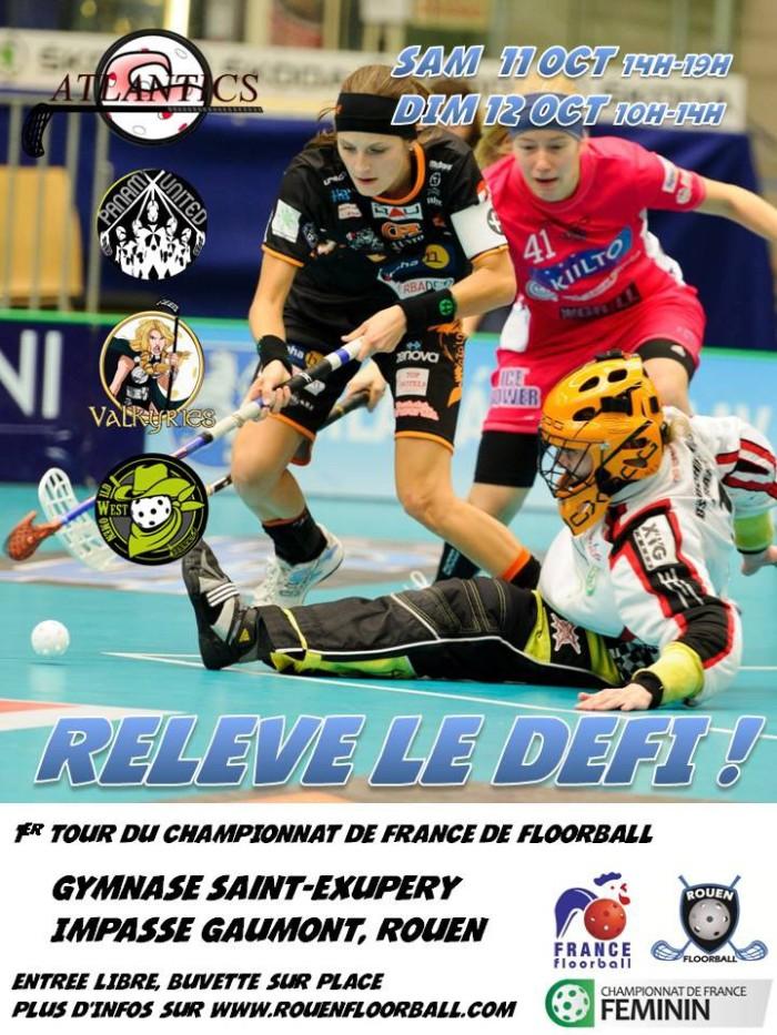 Championnat femme floorball