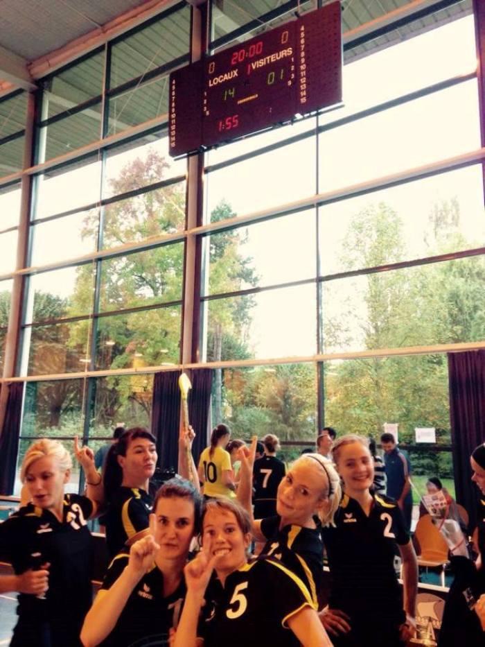 Floorball féminin Equipe parisienne