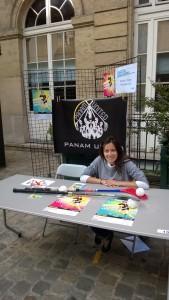 Forum des associations Paris 9 - Floorball féminin