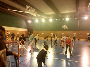 Floorball femmes Paris 9