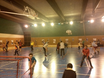 Nuit du Sport Paris 9 - 2014 - Panam United Floorball