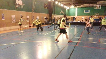 Floorball féminin Paris 9