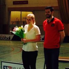 Floorball Paris Meilleure joueuse