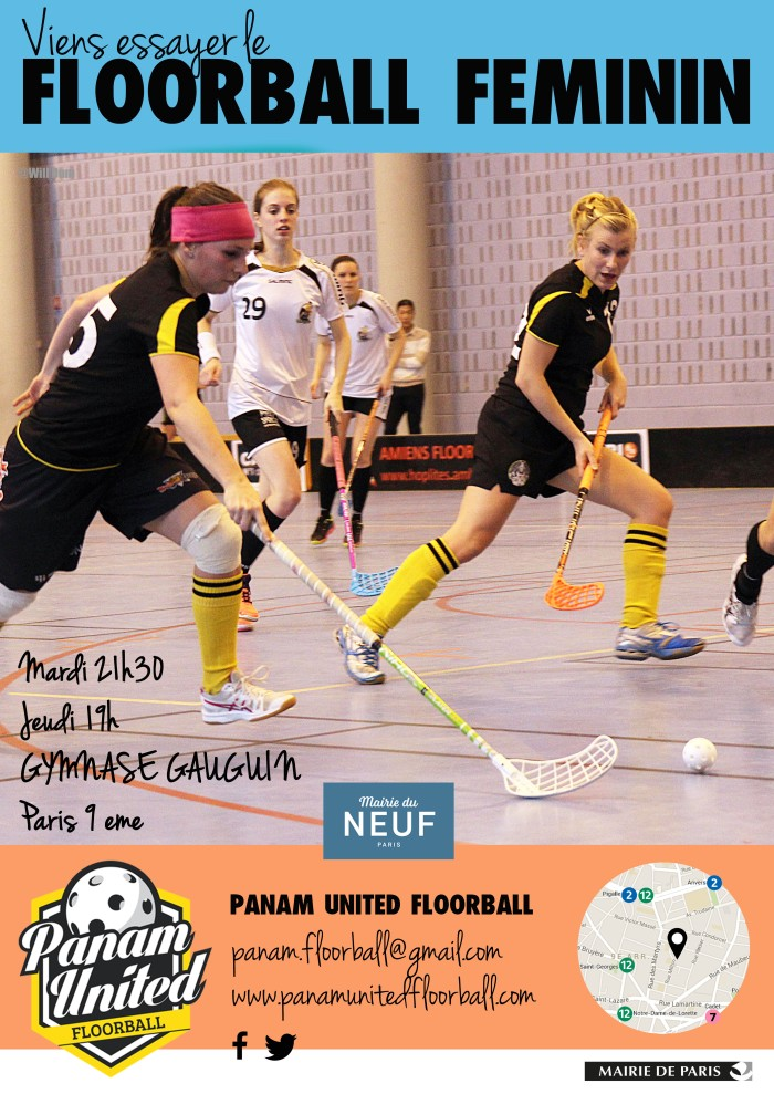 Sport collectif floorball