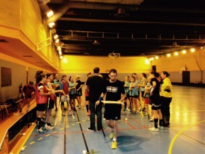 Floorball féminin paris Equipe de FRance