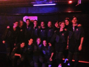 Floorball femmes paris